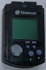 Sega Dreamcast - Sega Dreamcast Visual Memory Unit Black Loose
