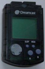 Sega Dreamcast - Sega Dreamcast Visual Memory Unit Black Loose