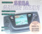 Sega Game Gear - Sega Game Gear Batman Returns and Sonic 2 Console Boxed