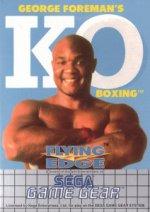 Sega Game Gear - George Formans KO Boxing