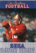 Sega Game Gear - Joe Montana Football