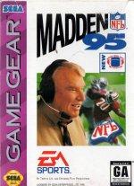Sega Game Gear - Madden NFL 95