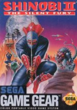 Sega Game Gear - Shinobi 2 US