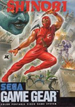 Sega Game Gear - Shinobi US
