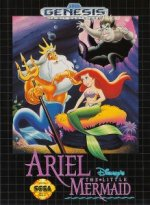 Sega Genesis - Ariel the Mermaid