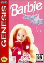 Sega Genesis - Barbie Supermodel