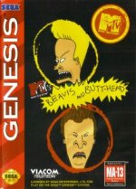 Sega Genesis - Beavis and Butthead