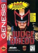 Sega Genesis - Judge Dredd