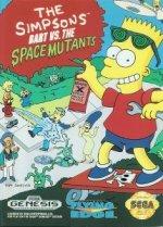 Sega Genesis - Simpsons - Bart vs Space Mutants