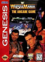 Sega Genesis - WWF Wrestlemania - The Arcade Game