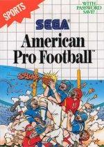 Sega Master System - American Pro Football