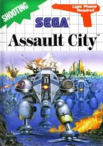 Sega Master System - Assault City - Light Phaser Version