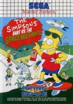 Sega Master System - Simpsons - Bart vs Space Mutants