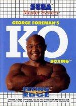 Sega Master System - George Foremans KO Boxing