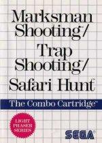 Sega Master System - Marksman Shooting Trap Shooting and Safari Hunt