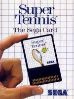 Sega Master System - Super Tennis Card
