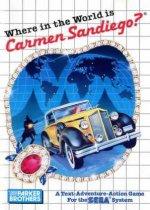 Sega Master System - Where in the World is Carmen Sandiago