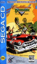 Sega Mega CD - Cadillacs and Dinosaurs