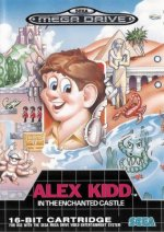 Sega Megadrive - Alex Kid and the Enchanted Castle