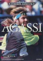Sega Megadrive - Andre Agassi Tennis