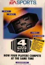 Sega Megadrive - Sega Megadrive EA Four Way Play Boxed