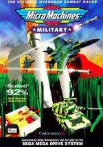Sega Megadrive - Micro Machines Military