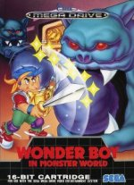 Sega Megadrive - Wonderboy in Monster World