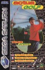 Sega Saturn - Actua Golf