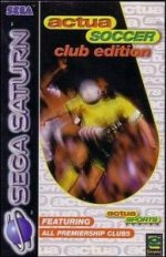 Sega Saturn - Actua Soccer Club Edition