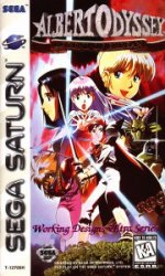 Sega Saturn - Albert Odyssey - Legend of Eldean
