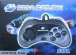Sega Saturn - Sega Saturn Controller Official Black Boxed