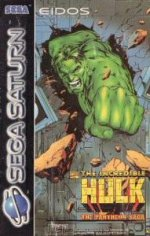 Sega Saturn - Incredible Hulk - The Pantheon Saga