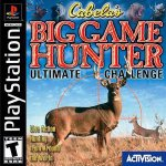 Sony Playstation - Cabelas Big Game Hunter