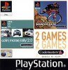 Sony Playstation - Colin McRae Rally 2 and No Fear Downhill