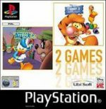 Sony Playstation - Donald Duck Quack Attack and Tiggers Hunny Hunt