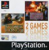 Sony Playstation - Medal of Honor and Medal of Honor Underground