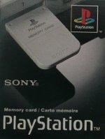 Sony Playstation Memory Card Grey Boxed