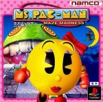 Sony Playstation - MS Pacman Maze Madness