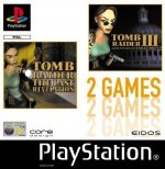 Sony Playstation - Tomb Raider 3 and Tomb Raider the Last Revelation