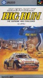 Super Famicom - Jaleco Rally Big Run
