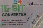 Super Nintendo - Super Nintendo 16 Bit Converter Boxed