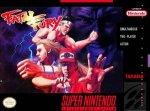 Super Nintendo - Fatal Fury