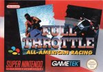 Super Nintendo - Full Throttle - All-American Racing