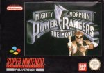 Super Nintendo - Mighty Morphin Power Rangers - The Movie