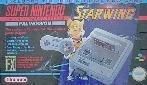 Super Nintendo - Super Nintendo Starwing Console Boxed