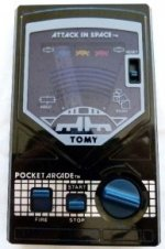 Tomy - Pocket Arcade Attack in Space Loose