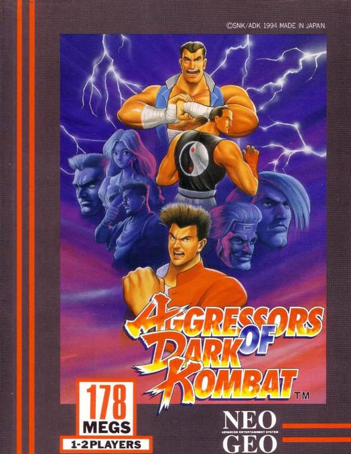 Neo Geo AES - Aggressors of Dark Kombat