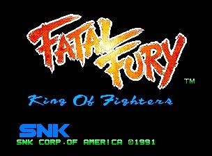 Fatal Fury in English Setting