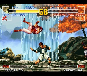 King of Fighters 95 in Standard 50Hz Display