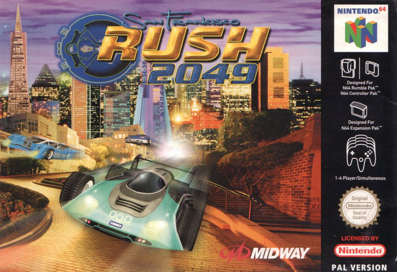 Car Ramps For Sale >> Buy Nintendo 64 San Francisco Rush 2049 For Sale at Console Passion